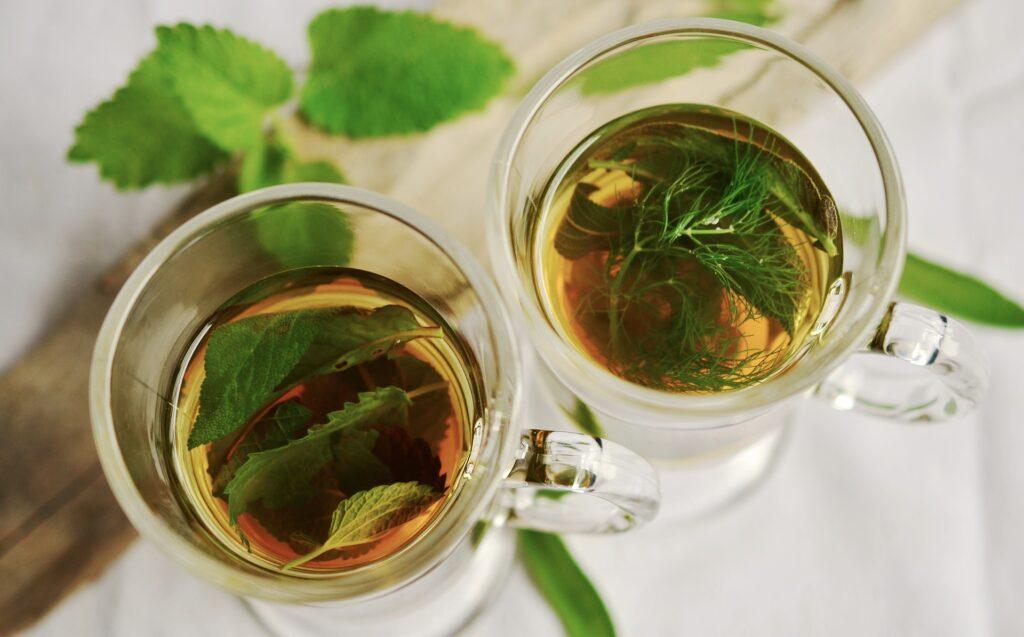zielona herbata wspiera wątrobę i obniża cholesterol